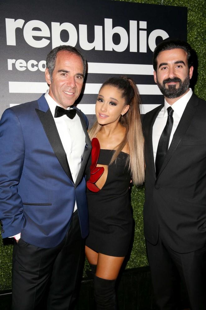 Ariana Grande – Republic Records Grammy 2016 Celebration in Los Angeles