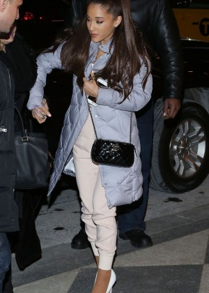 Ariana Grande - SNL 40th Anniversary Celebration After Party in NYC