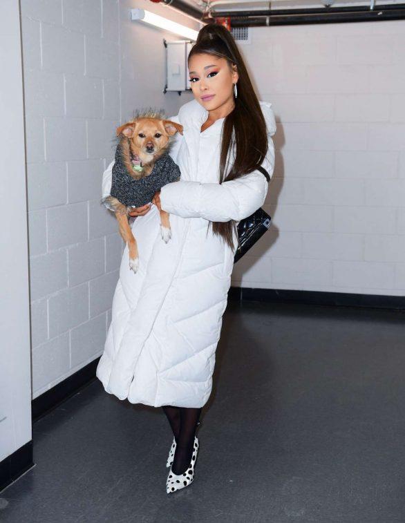 Ariana Grande - Sweetener World Tour Backstage shoot in Charlottesville