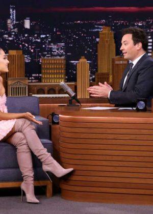 Ariana Grande - 'The Tonight Show Starring Jimmy Fallon' in NYC