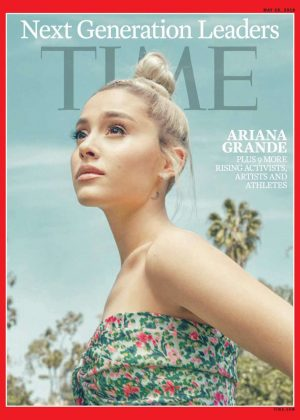 Ariana Grande - Time Magazine's Next Generation Leaders (May 2018)