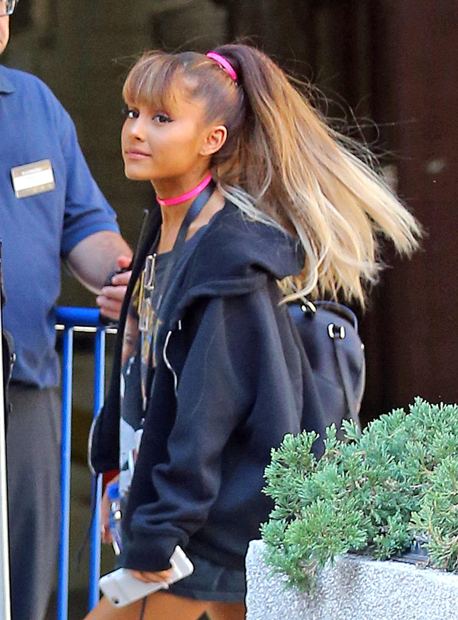 Ariana Grande Walking into Madison Square Garden 18 GotCeleb