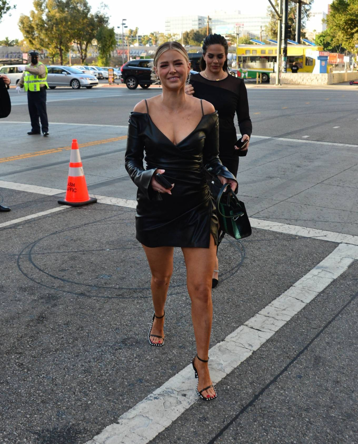 Ariana Madix 2021 : Ariana Madix – With Tom Sandoval seen arriving at the Midnight In The Switchgrass in Los Angeles-01