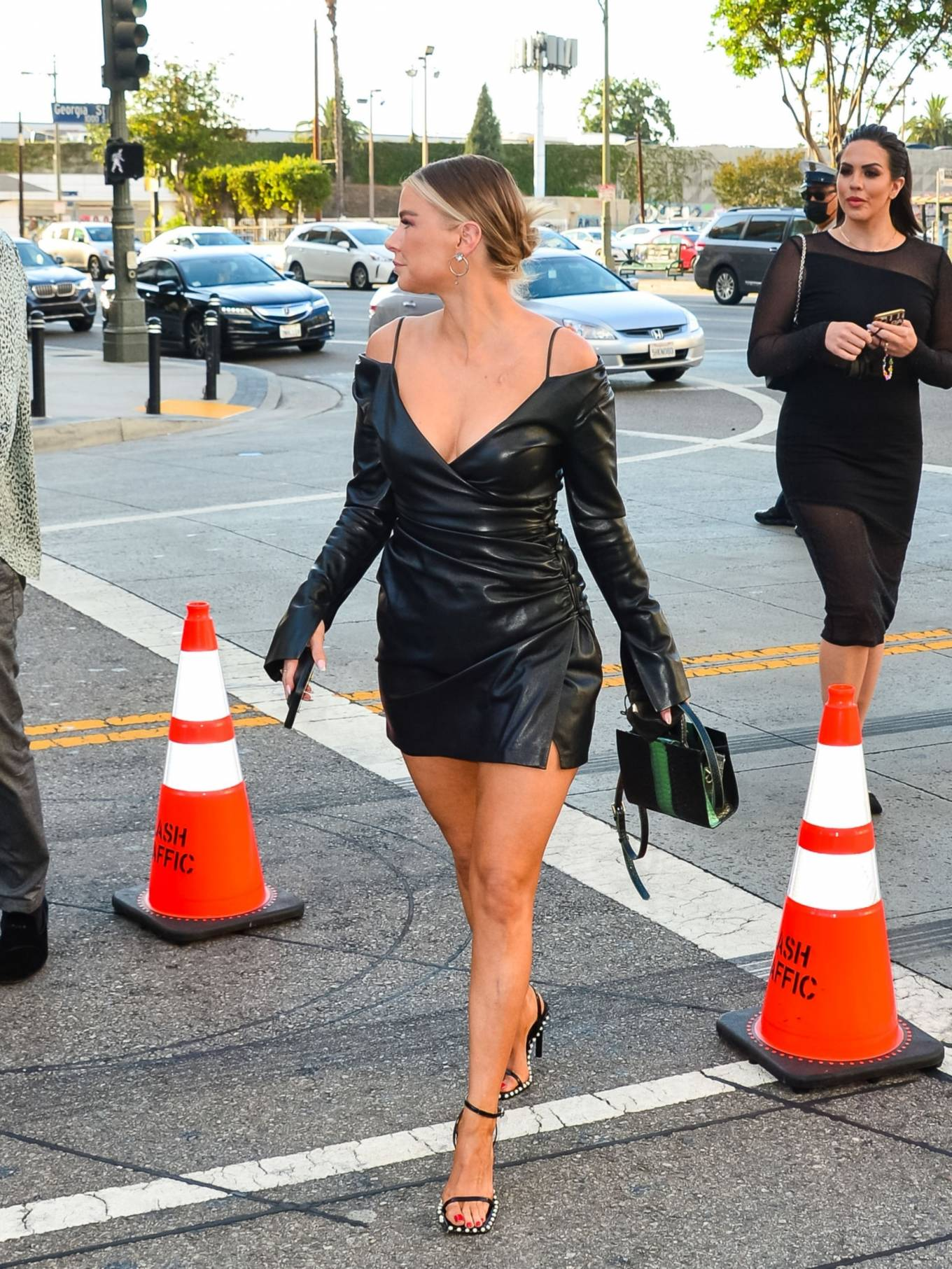 Ariana Madix 2021 : Ariana Madix – With Tom Sandoval seen arriving at the Midnight In The Switchgrass in Los Angeles-02