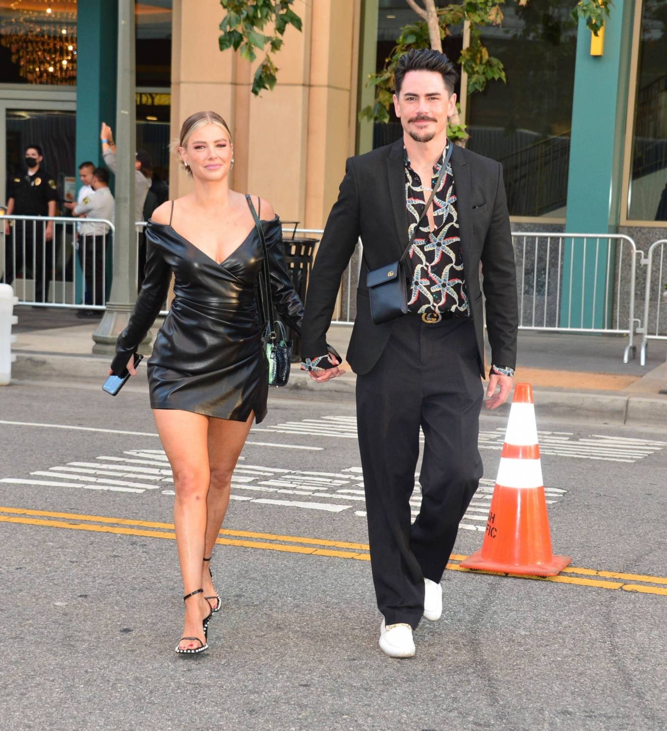 Ariana Madix 2021 : Ariana Madix – With Tom Sandoval seen arriving at the Midnight In The Switchgrass in Los Angeles-08
