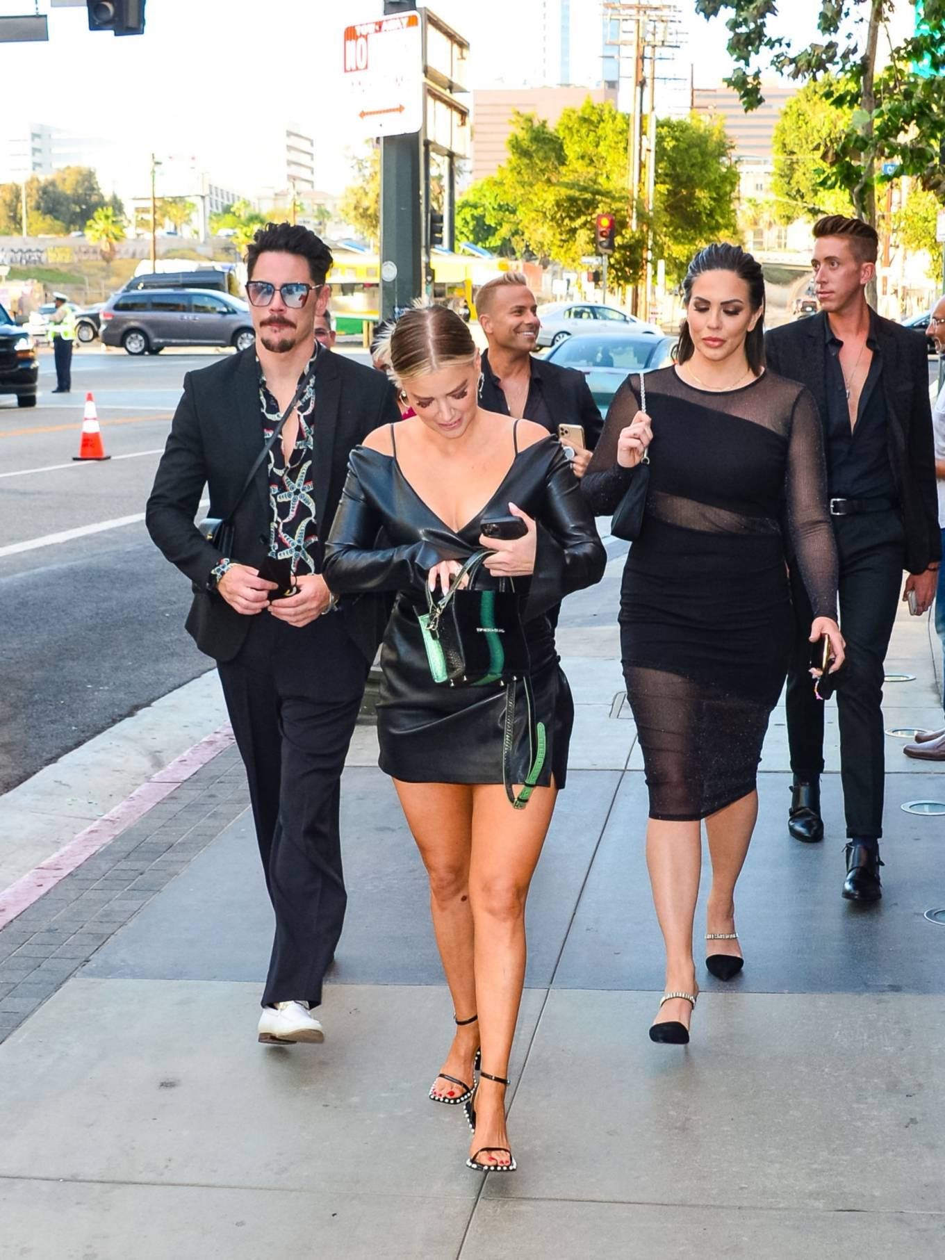 Ariana Madix 2021 : Ariana Madix – With Tom Sandoval seen arriving at the Midnight In The Switchgrass in Los Angeles-09