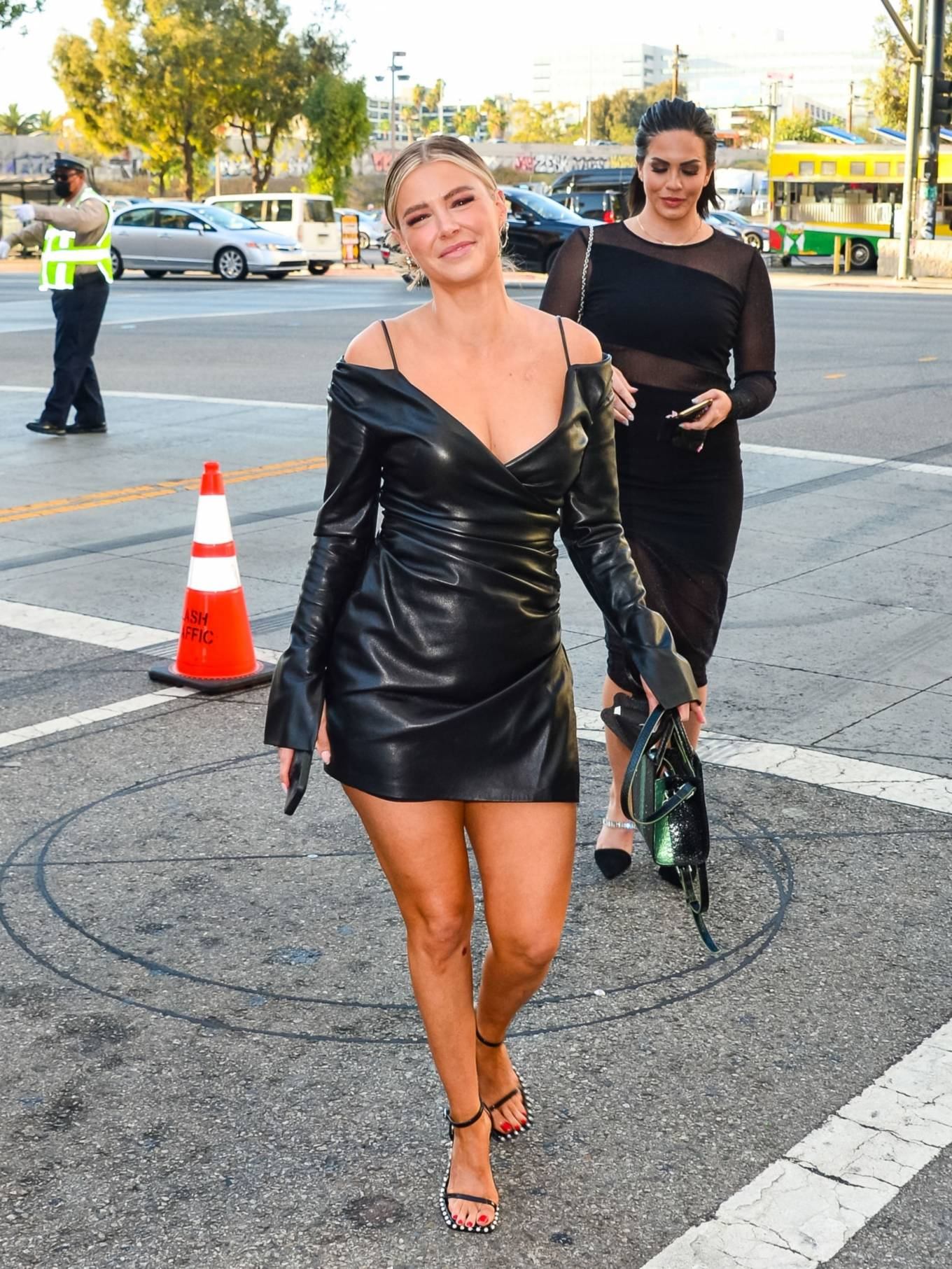 Ariana Madix 2021 : Ariana Madix – With Tom Sandoval seen arriving at the Midnight In The Switchgrass in Los Angeles-11