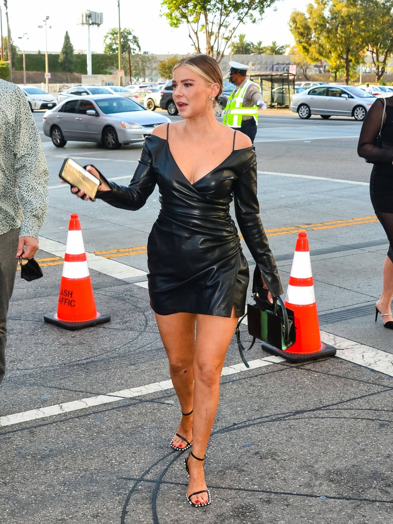 Ariana Madix 2021 : Ariana Madix – With Tom Sandoval seen arriving at the Midnight In The Switchgrass in Los Angeles-15