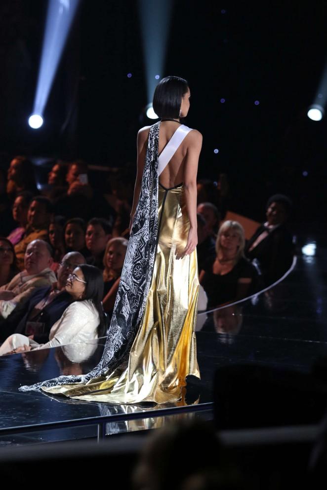 Ariana Miyamoto 2015 : Ariana Miyamoto: Miss Universe 2015 Preliminary Round -01