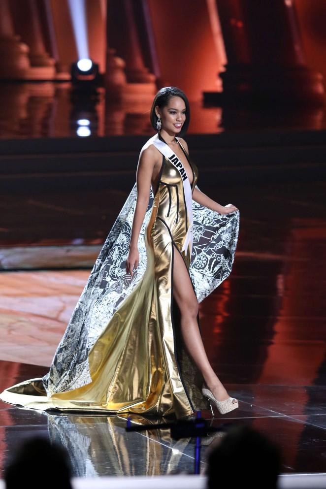 Ariana Miyamoto 2015 : Ariana Miyamoto: Miss Universe 2015 Preliminary Round -03