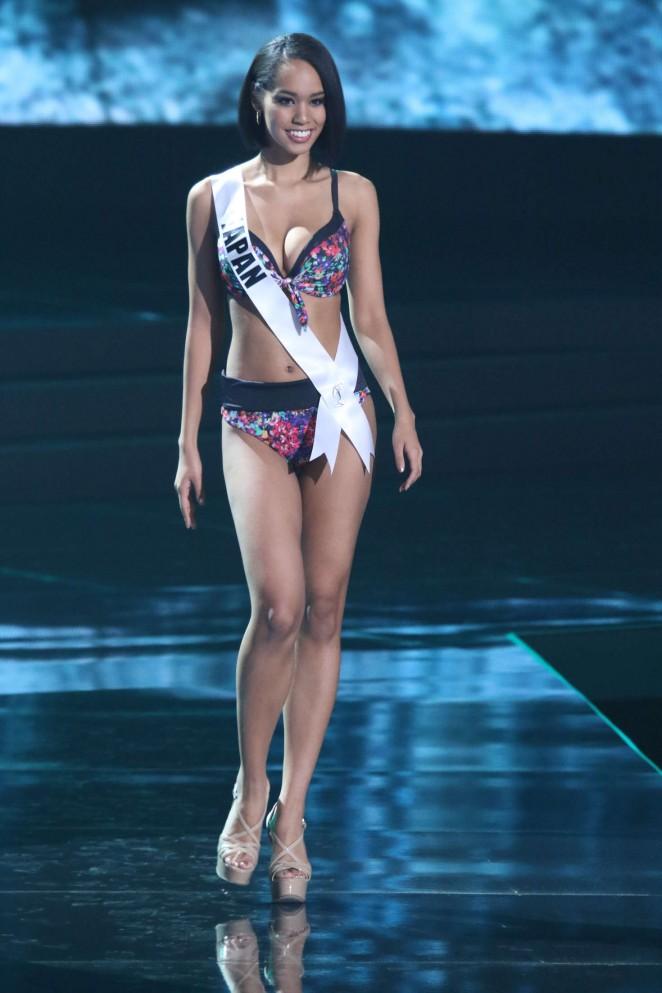 Ariana Miyamoto - Miss Universe 2015 Preliminary Round in Las Vegas