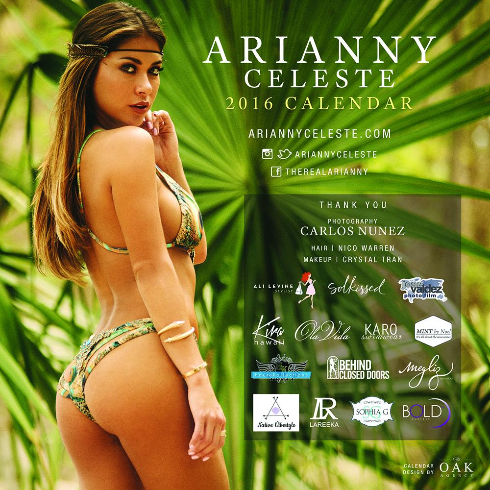 Arianny Celeste: 2016 Calendar -05