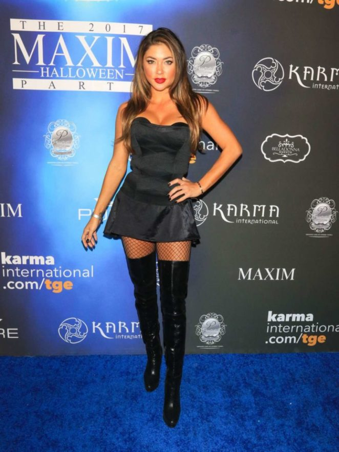 Arianny Celeste - 2017 Maxim Halloween Party in Los Angeles
