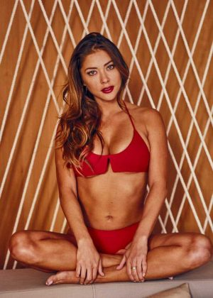 Arianny Celeste - Bikini Photoshoot for NY Post
