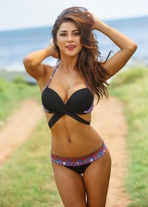 Arianny Celeste: Solkissed Swimwear 2015 -18