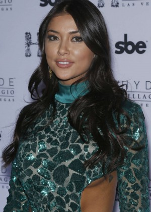 Arianny Celeste - UFC Octagon Girls take over Hyde Bellagio in Las Vegas