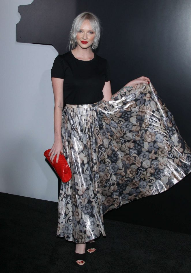 Ariel Beesley - Chanel celebrates the launch of 'No.5 L'eau' in Los Angeles