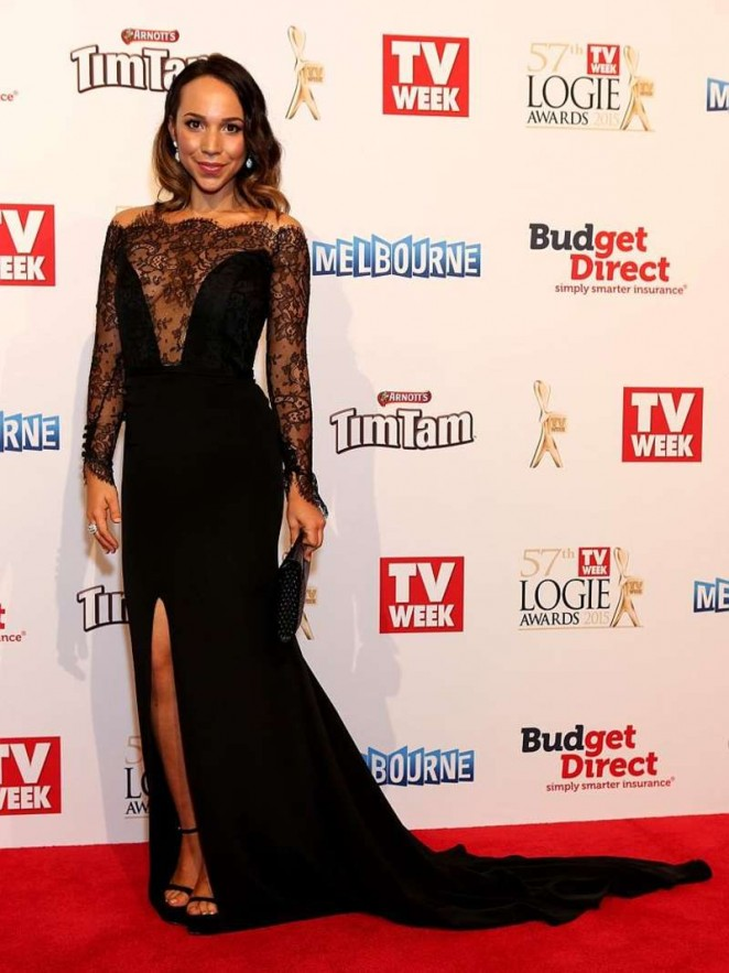 Ariel Kaplan - 2015 Logie Awards in Melbourne