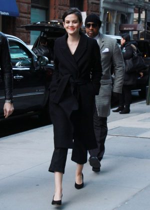 Ariel Mortman - Arriving to AOL Build Series in New York City