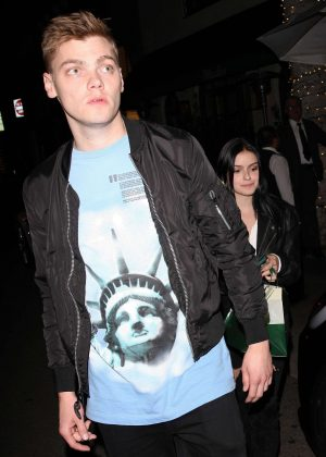 Ariel Winter and Levi Meaden - Arrives at Madeo restaurant in Beverly Hills