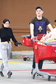Ariel Winter and Levi Meaden - Out for Easter shopping in LA