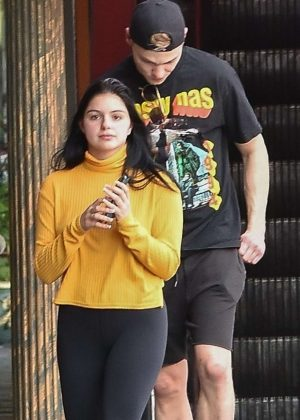 Ariel Winter and Levi Meaden - Out for lunch in Studio City