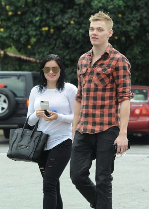 Ariel Winter and Levi Meaden out in Los Angeles