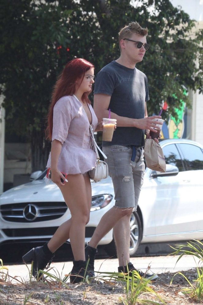 Ariel Winter and Levi Meaden out in Studio City -19