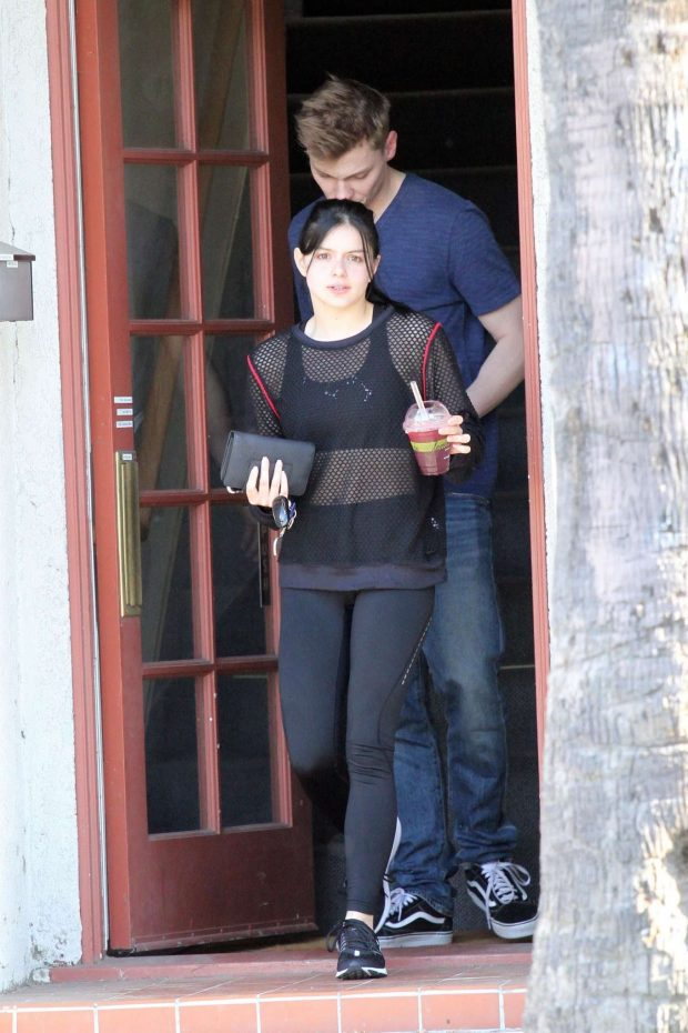 Ariel Winter and Levi Meaden - Out in Studio City