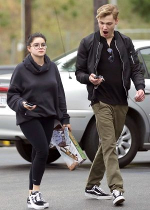 Ariel Winter and Levi Meaden - Shopping at Urban Outfitters in Studio City