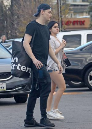 Ariel Winter and Levi Meaden Shops at Urban Outfitter in Studio City
