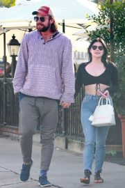 Ariel Winter and Luke Benward - Outside Patty's in Burbank