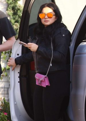 Ariel Winter - Arriving to a friend's house in Beverly Hills