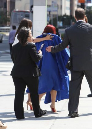 Ariel Winter at her Graduation in LA -01