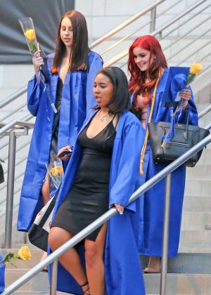 Ariel Winter at her Graduation in LA -11