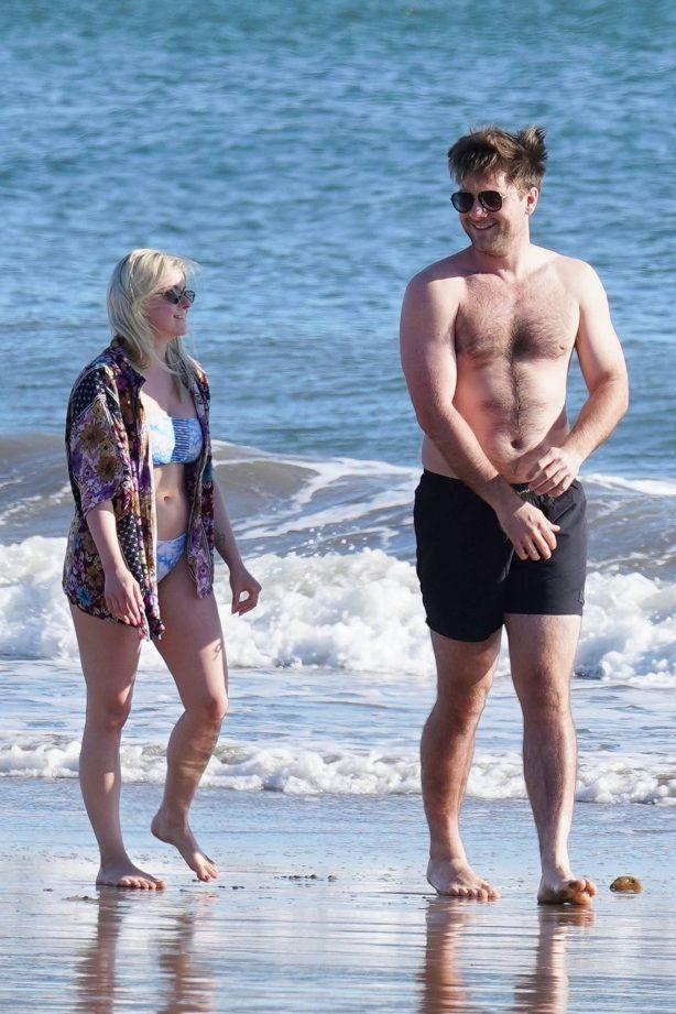 Ariel Winter - In a bikini at the beach in Santa Barbara