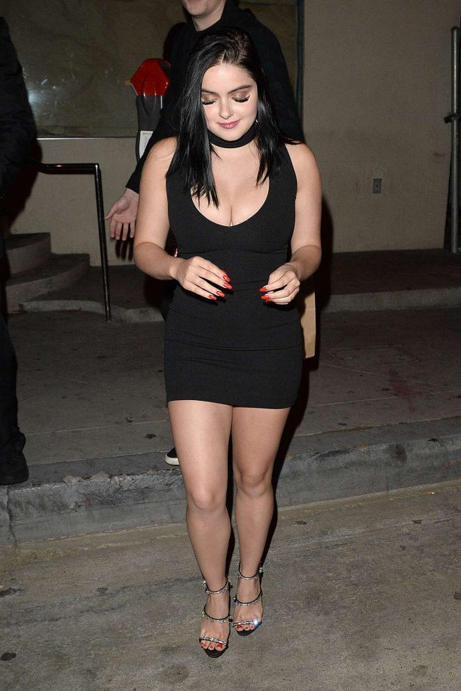 1f2fbb0d7a60 Ariel Winter in Black Mini Dress -16 – GotCeleb