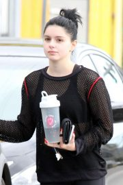 Ariel Winter in Black Outfit - Out in Los Angeles