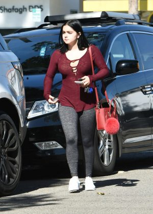 Ariel Winter in Gym Outfit out in Los Angeles