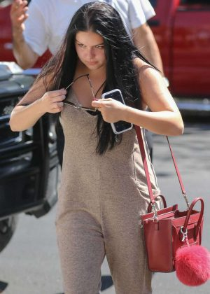 Ariel Winter in Jumpsuit Out in West Hollywood