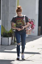 Ariel Winter in Ripped Denim - Out in Los Angeles