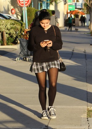 Ariel Winter in Short Skirt -20