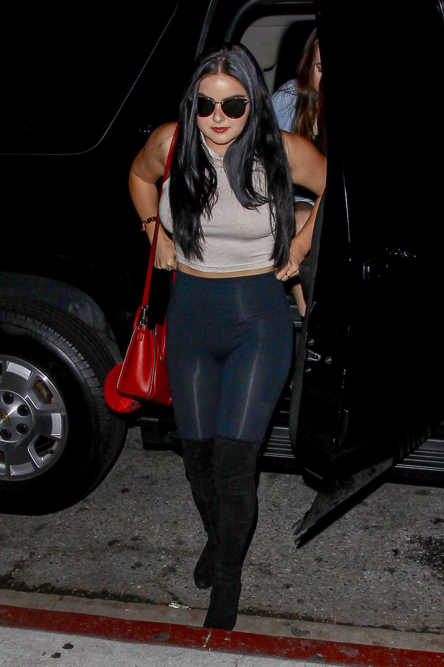 Ariel Winter In Tights At The The Nice Guy In West