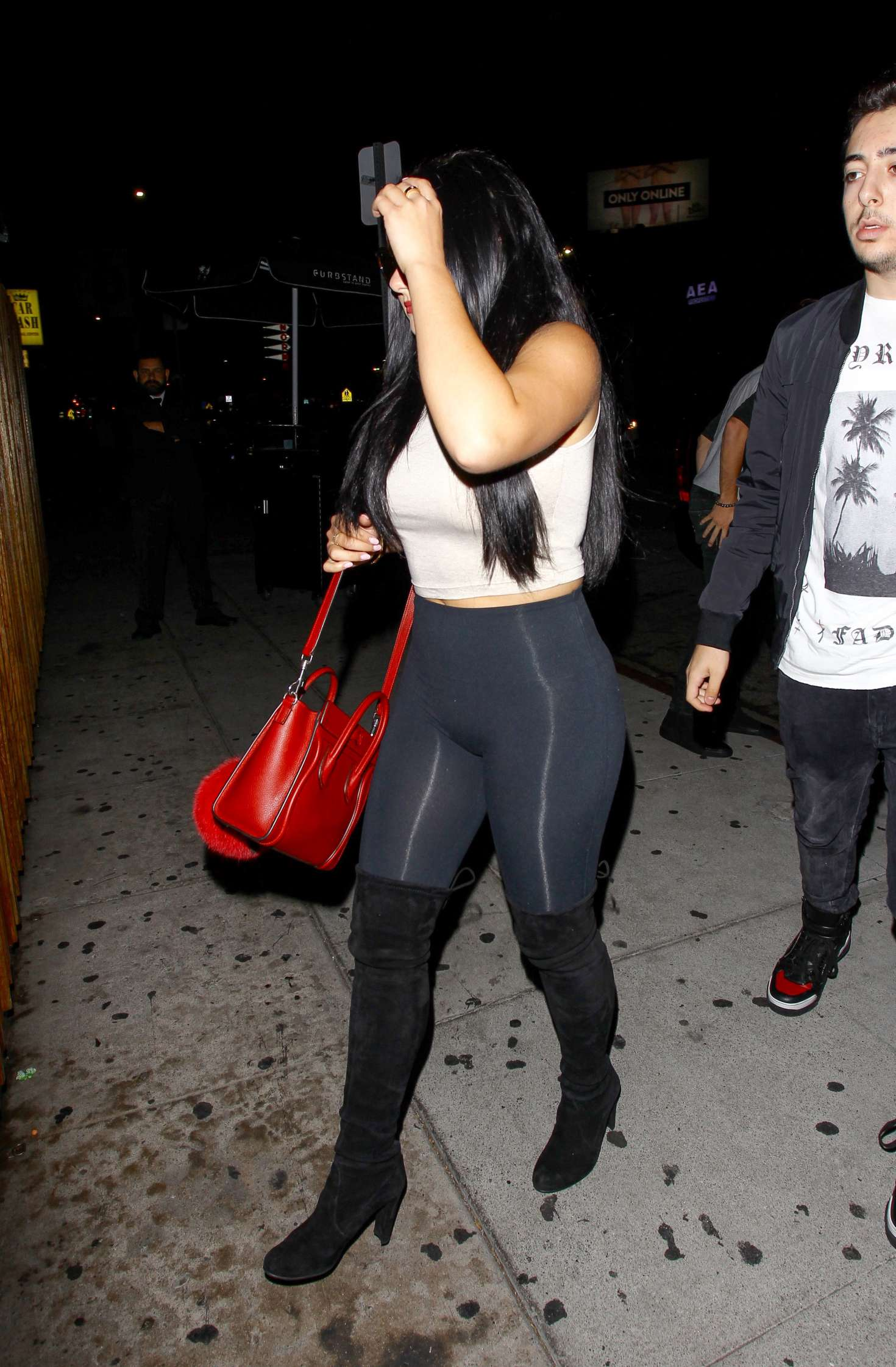 Ariel Winter In Tights At The The Nice Guy 09 Gotceleb