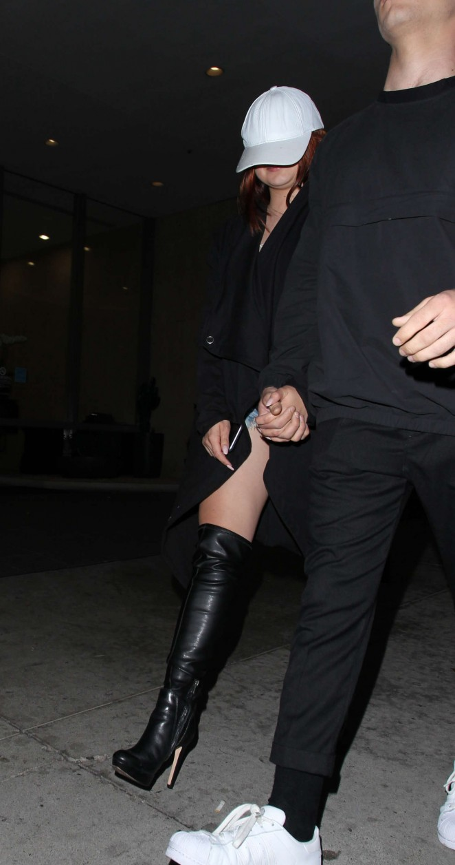 Ariel Winter - Leaving Bootsy Bellows in West Hollywood