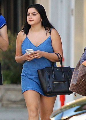 Ariel Winter - Leaving Il Pastaio in Beverly Hills