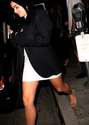 Ariel Winter - Leaving Mastro's Steakhouse in Beverly Hills