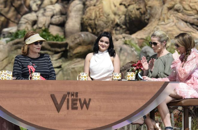 Ariel Winter - On ABC's 'The View' at Disney's Animal Kindgom in Lake Buena Vista