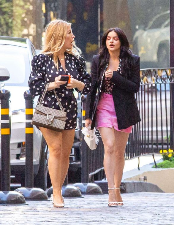 Ariel Winter - Seen at the Beverly Wilshire Hotel In Beverly Hills