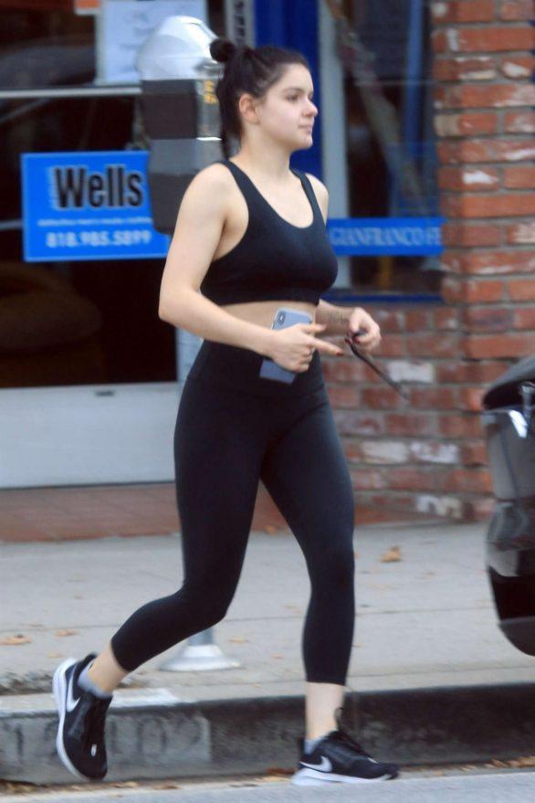 Ariel Winter - Seen Leaving the Gym in Los Angeles